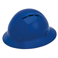ERB Americana Slide-Lock Adjustment Vented Full Brim Hard Hat