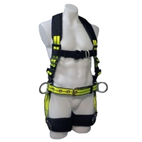 Safewaze FS-FLEX253-FD Premium Construction Harness