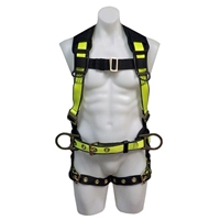 Safewaze FS170 Extreme Tangle Free Construction Harness