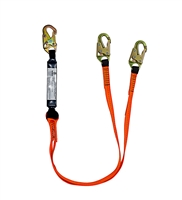 Safewaze FS88561-E V-Line 6 ft Double Leg Lanyard