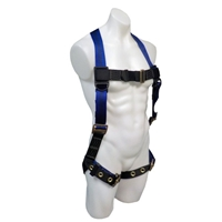 Safewaze FS99185-E V-line Single D-Ring Harness
