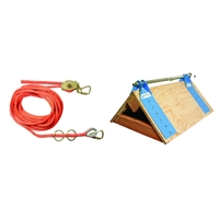FallTech 7432502 2 Person Horizontal Lifeline
