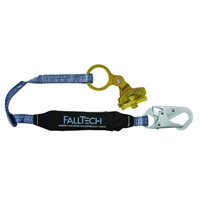 Trailing Rope Grab with Attached 3 ft. Shock Absorbing Lanyard