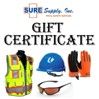 Sure Supply Gift Certificate