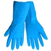 Global Glove 140FB Blue Latex Rubber Gloves