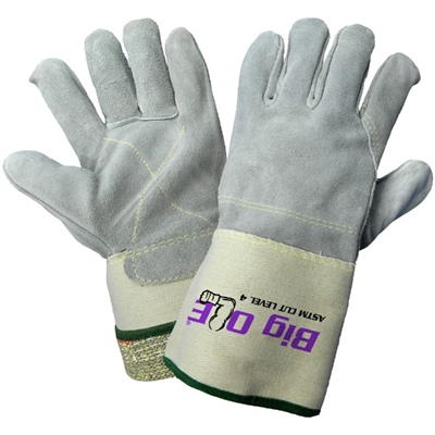 Global Glove Big Ole 2150KFGC Split Cow Leather Gloves