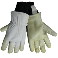 Global Glove Goatskin Leather Latex Dipped Gloves