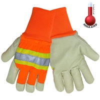 Global Glove 2900HVKW Pigskin Cold Weather Gloves