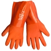 Global Glove FrogWear 8620 Orange PVC Dipped Gloves