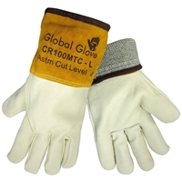 Global Glove CR100MTC Cow Grain Full Leather Gloves