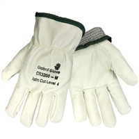 Global Glove CR3200 Keyston Thumb Cow Leather Driver Gloves