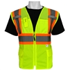 Global Glove GLO-0037 ANSI Class 2 Partial Mesh & Solid Vest