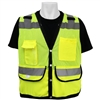Global Glove GLO-059 ANSI Class 2 Light Weight Mesh Vest