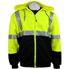 Global Glove GLO-HS2 Hi-Vis Hooded Sweatshirt