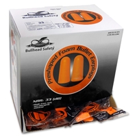 Bullhead HP-F1 Uncorded Disposable Earplugs