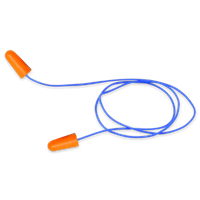 Bullhead HP-F2 Corded Disposable Earplugs