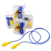 Bullhead HP-S2 Corded Reusable Earplugs