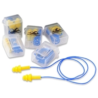 Bullhead HP-S3 Metal Detectable Corded Reusable Earplugs