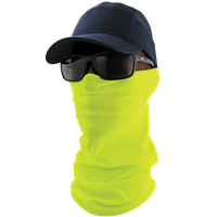 NG-201 - FrogWear HV - Multi-Function Neck Gaiter High-Visibility Yellow/Green