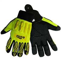 Global Glove SG9977 Vise Gripster Synthetic Leather Palm Gloves