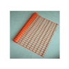"Orange Barrier Fencing 1.5"" x 3.5"" Rectangular Opening"
