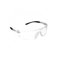 Ironwear 3500-NP-C Derby Series Safety Glasses, Clear Lens/Frame