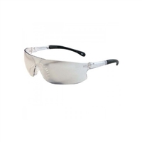 Ironwear 3500-NP-IOM Derby Series Safety Glasses, Clear Indoor/Outdoor