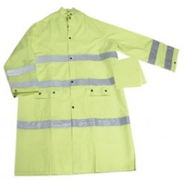 "Ironwear 9220 49"" Waterproof Coat w/ Reflective Stripes"