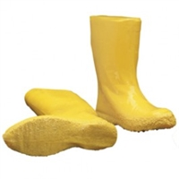 "Ironwear 9260 Yellow 12"" Latex Haz-Mat Boot"