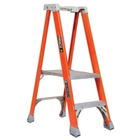 Louisville Ladder FXP1700 Fiberglass Platform Step Stool Industrial