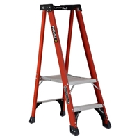 Louisville Ladder FXP1800HD Fiberglass Platform Step Stool Industrial