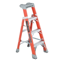 Louisville Ladder FXS1500 Fiberglass Step To Shelf Ladder