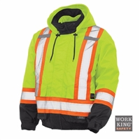 Richlu S413 3-in-1 Safety Bomber Jacket