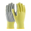 PIP 09-K300LP Kut-Gard Kevlar with Cowhide Leather Palm Gloves