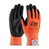 PIP 19-D340OR G-Tek Hi-Vis Cut Resistant Nitrile Foam Coated Gloves
