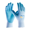 PIP 34-824 MaxiFlex Active W/ Aloe Vera & Vitamin E Blue Gloves