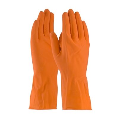 PIP 48-L185T Assurance Unsupported Orange Latex Gloves