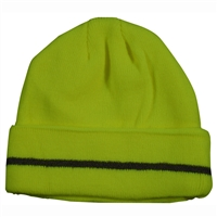 Petra Roc LBE/OBE-S1 Safety Beanie Hat with Reflective Stripe