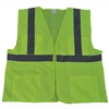 Petra Roc ANSI/ISEA 107-2010 CLASS II Front Solid Mesh Back 4-Pocket Safety Vests