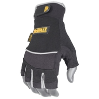 Dewalt DPG230 Fingerless Synthetic Leather Gloves
