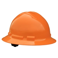 Radians QHR6-ORANGE Quartz Full Brim Hard Hats