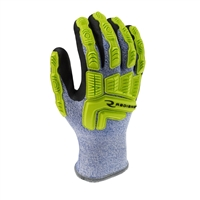 Radians Cut Protection, Cold Weather, Coated Glove