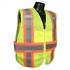 Radians Expandable Two-Tone Vest, Hi-Viz Green