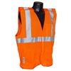 Radians SV4 Economy Breakaway Safety Vest, Hi-Viz Orange