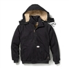 Rasco Flame Resistant Quilted Hooded Jacket, Regular