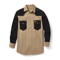 Rasco Non Flame Resistant Two Tone Work Shirt