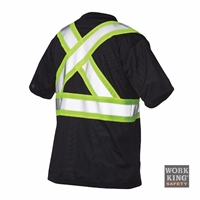 Richlu S392 Short Sleeve Safety T-Shirt W/ Pocket