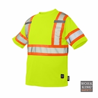 Richlu S394 Short Sleeve Safety T-Shirt w/ Armband