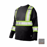 Richlu S396 Long Sleeve Safety T-Shirt w/ Armband