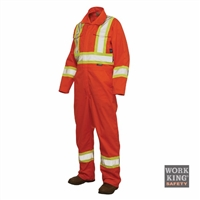 Richlu S792 Poly/Cotton Unlined Safety Coverall